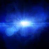 Spotlight single beam Stock Images