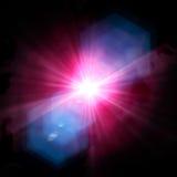 Spotlight single beam Royalty Free Stock Photo