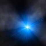 Spotlight single beam Royalty Free Stock Photography
