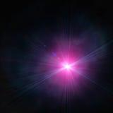 Spotlight single beam Stock Image
