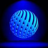 Spotlight Sphere Stock Image