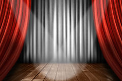 Spotlight on Stage royalty free stock images