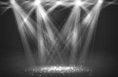 Spotlight vintage background Royalty Free Stock Photography