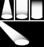 Spotlights vector illustration