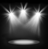 Spotlights Royalty Free Stock Image