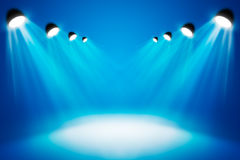 Spotlights abstract lighting equipment royalty free stock image