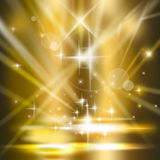 Spotlights Background illustration Royalty Free Stock Photos