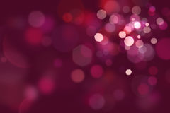 Spotlights on Blurred Purple Background Royalty Free Stock Image