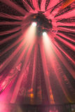 Spotlights in Circus Tent Royalty Free Stock Photography