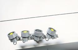 Spotlights Stock Image