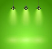 Spotlights Royalty Free Stock Images
