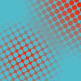 Spots on red and blue. Background Royalty Free Stock Images