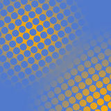 Spots on yellow and blue Royalty Free Stock Photos