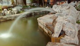 Spottat vatten Shishou Royaltyfri Bild