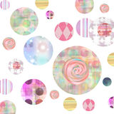 Spotted Abstract Grunge Background. For Scrapbooking and design Royalty Free Stock Photo