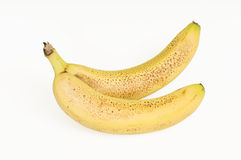 Spotted bananas Royalty Free Stock Photography