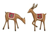 Spotted deer Stock Images
