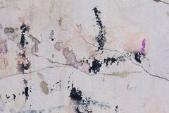 Spotted dirty plaster texture Royalty Free Stock Photos
