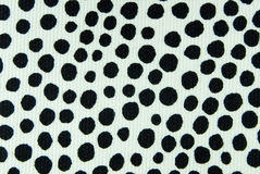 Spotted fabric texture Royalty Free Stock Photos