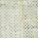 Spotted grungy pattern with text Royalty Free Stock Photos
