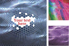 Spotted halftone Royalty Free Stock Photos