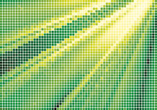 Spotted halftone Stock Image