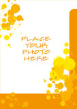 Spotted Photo Frame Royalty Free Stock Photography
