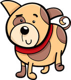 Spotted puppy cartoon illustration Stock Photo
