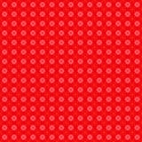 Spotted Red Wallpaper Pattern Royalty Free Stock Photography