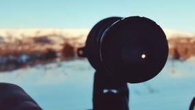 Spotting av räckvidd Arkivfoton
