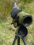 Spotting scope Royalty Free Stock Photography