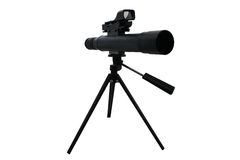 Spotting Scope Stock Photo