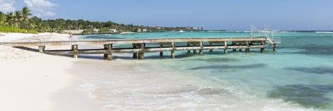 Spotts-Strand Pier Panorama Stockfotografie