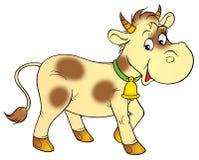 Spotty calf Stock Image