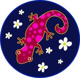 Spotty lizard Royalty Free Stock Photography