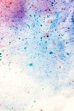 Spotty paint abstract background Stock Images