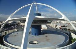 Spotyka Restaurację przy NIEDBAŁYM lotniskiem, LOS ANGELES, CA zdjęcie royalty free