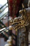Spout. Dragon head shape spout Stock Images