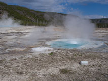 Spouter Geyser Stock Images