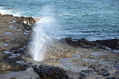 Spouting Horn Stock Image
