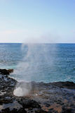 Spouting Horn blowhole Stock Photo