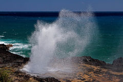 The Spouting Horn Stock Images