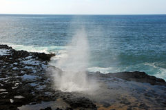 Spouting horn Royalty Free Stock Photography