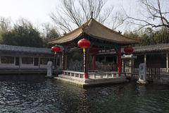 Spouting Spring (a famous spring in Jinan City, Shandong Province) Stock Image