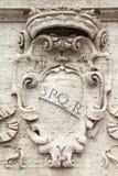 spqr rome стоковые изображения