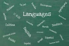 språk vektor illustrationer