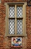 spröjsat fönster Royaltyfria Bilder
