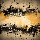 Sprühfarbe auf Segeltuchbeschaffenheit Stockbilder