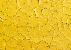 Sprünge auf Oberfläche der Ölfarbe lizenzfreies stockfoto