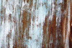 Sprünge der Farbe auf einem Metallhintergrund lizenzfreie stockbilder